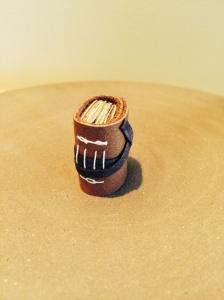 Miniature book upright