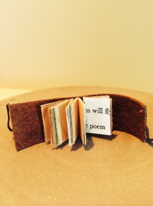Miniature book view of pages
